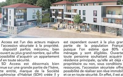 SD'ACCESS présent dans le Nord Isère